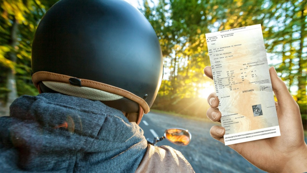 Carte grise de moto : comment faire ?